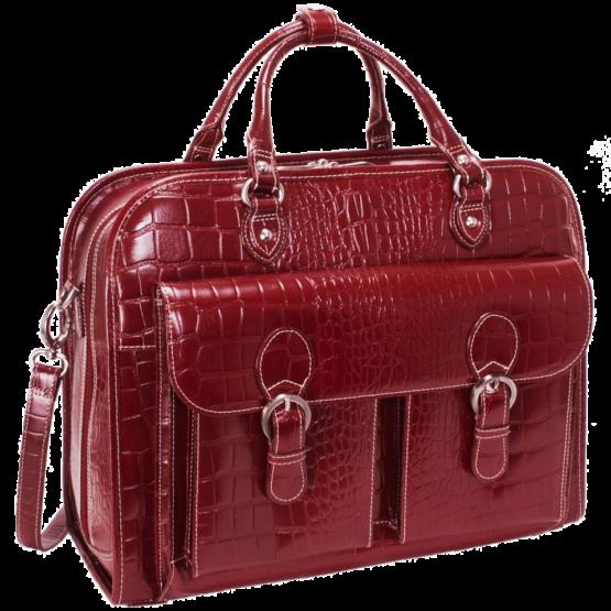 Laptop trolley Siamod San Martino (rood)