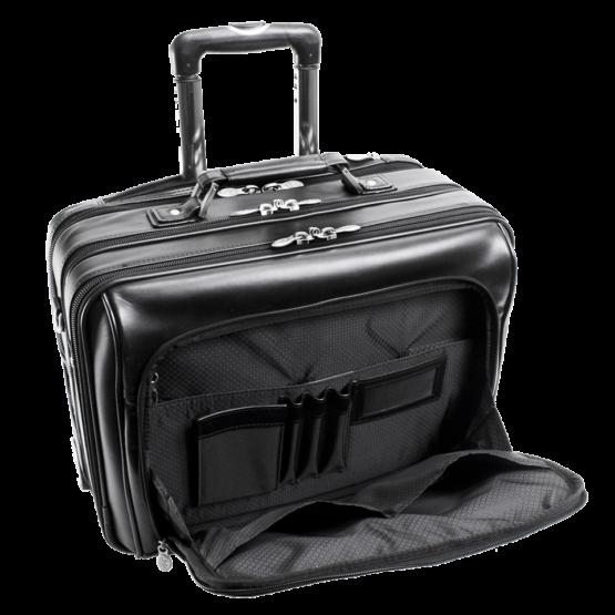 Laptop trolley McKlein USA Lasalle (zwart)