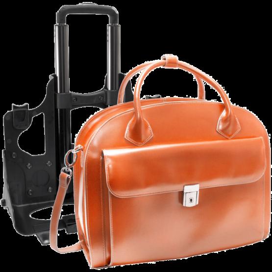 Laptop trolley McKleinUSA Glen Ellyn (oranje)