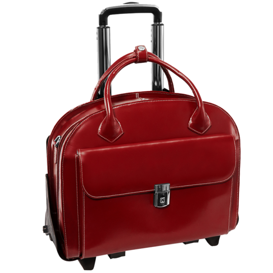 Laptop trolley McKleinUSA Glen Ellyn (rood)