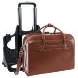 Laptop trolley McKleinUSA Willowbrook (bruin)