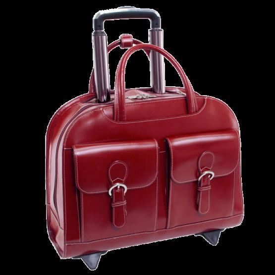 Laptop trolley McKleinUSA Davis (rood)