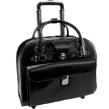 Laptop trolley McKleinUSA Edgebrook (zwart)