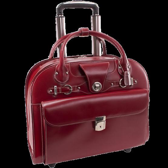 Laptop trolley McKleinUSA Edgebrook (rood)