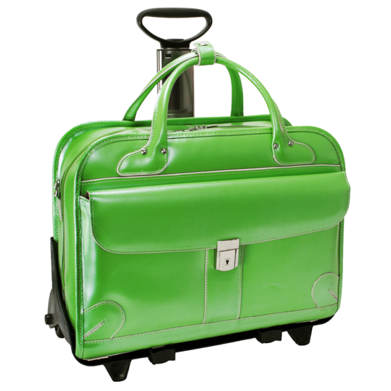 Laptop trolley McKleinUSA Lakewood (groen)