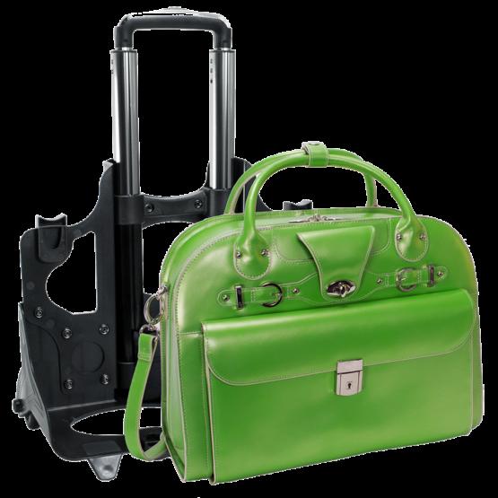 Laptop trolley McKleinUSA Roseville (groen)