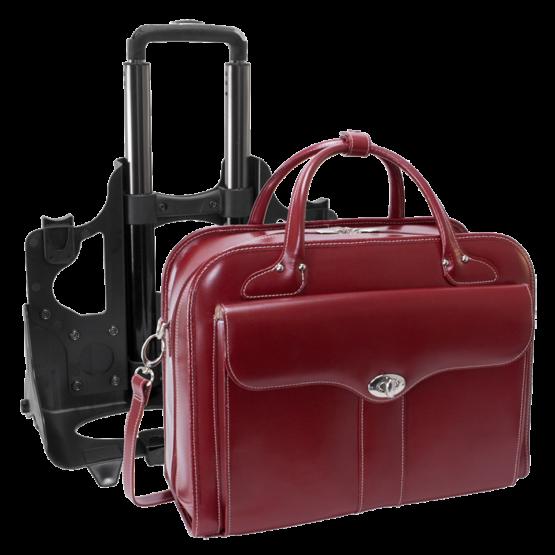 Laptop trolley McKleinUSA Berkely (rood)